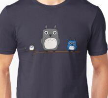 Totoro Owls Unisex T-Shirt