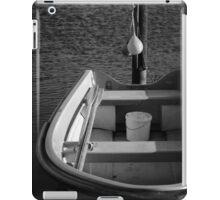 The Boat - BW iPad Case/Skin
