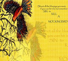 TO KILL A MOCKINGBIRD Sketch 2009 by AarathiS