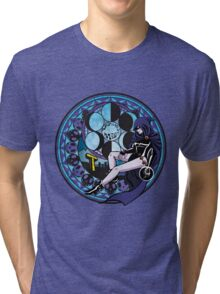 Raven's Birth by Sleep Tri-blend T-Shirt