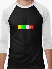 Tour de France Jerseys 2 Black Men's Baseball ¾ T-Shirt