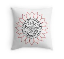 Progressions 4 Throw Pillow