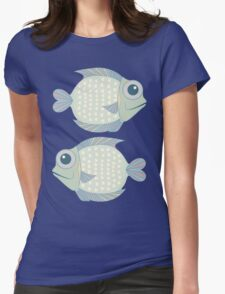 Two Cool Fish Womens Fitted T-Shirt