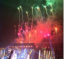 WWA Philly 8/13 Fireworks by Emlyn  Orr