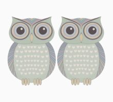 Owl Twins Kids Clothes