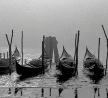 Gondolas, Venezia Sticker
