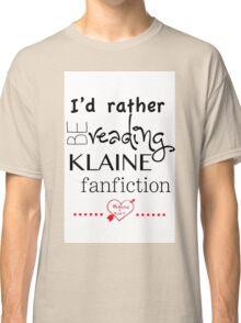 Klaine Fanfiction Classic T-Shirt
