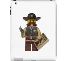 LEGO Sheriff iPad Case/Skin