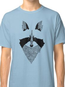 Raccoon black and white Classic T-Shirt