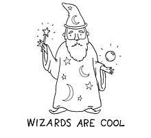 Wizards Are Cool Photographic Print