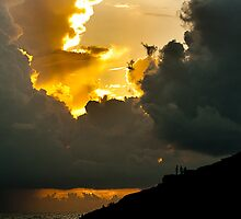 I told you I can touch the cloud! by Dinni H