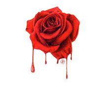 Painting the Roses Red Photographic Print