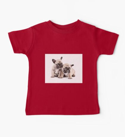 Frenchie Puppy Pals Baby Tee