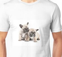 Frenchie Puppy Pals Unisex T-Shirt