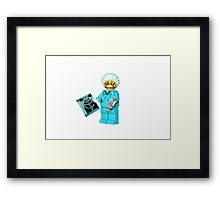 LEGO Surgeon Framed Print