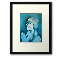 Hand of Faith Framed Print