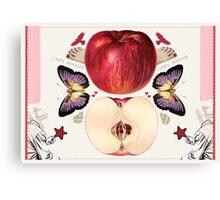 Carte Postale Canvas Print