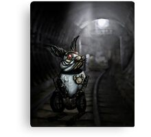 Clockwork White Rabbit Canvas Print
