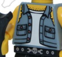 LEGO Bike Mechanic Sticker