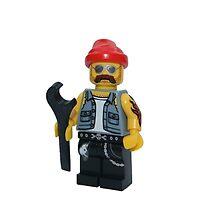 LEGO Bike Mechanic by jenni460