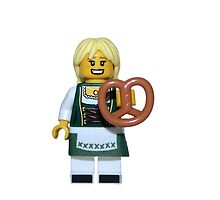 LEGO Pretzel Girl by jenni460
