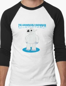 The Abominable Snowman  Men's Baseball ¾ T-Shirt