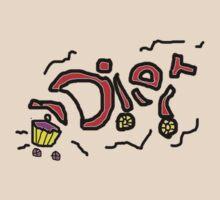 CRASH DIET  T SHIRT by Shoshonan