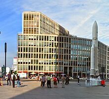 Potsdamer Platz Panorama by metronomad
