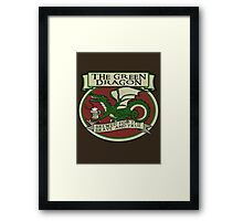 The Green Dragon Framed Print