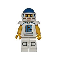 LEGO American Footballer by jenni460