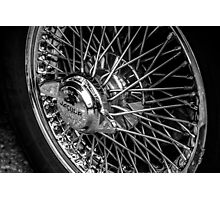 Jaguar Wheel Photographic Print