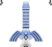 Zelda legend - link Sword doodle Sticker