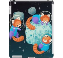 Red Space Pandas iPad Case/Skin