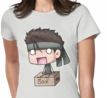 Metal Gear Box Womens Fitted T-Shirt