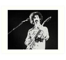 Frank Zappa Jams Art Print