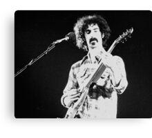 Frank Zappa Jams Canvas Print