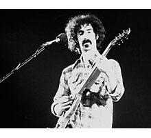 Frank Zappa Jams Photographic Print