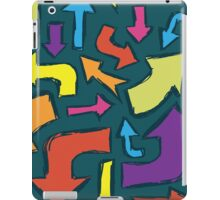 Direction Arrows iPad Case/Skin