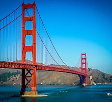 Golden Gate 2 by Mick Pennington