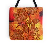 Fire Flowers Tote Bag