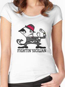 Fightin' Sicilian Women's Fitted Scoop T-Shirt