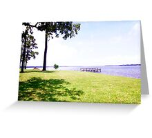 Hot summer afternoon Greeting Card