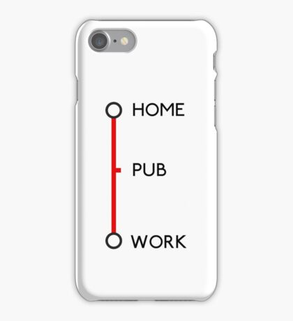 Tube journey iPhone Case/Skin