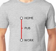 Tube journey Unisex T-Shirt