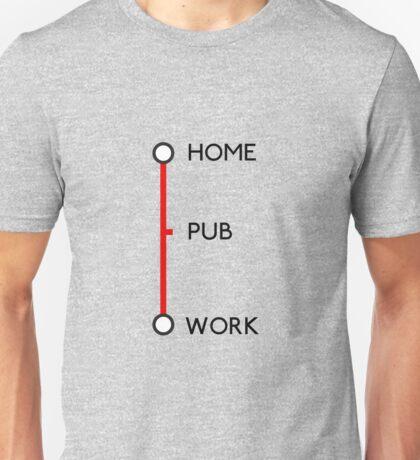 Tube journey Unisex T-Shirt