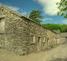 High Ickenthwaite Farm..Barn & Cottage by Jamie  Green