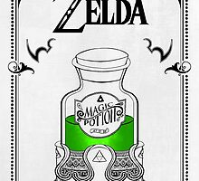 Zelda legend Green potion by artetbe