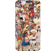 Friends in other Lands iPhone Case/Skin