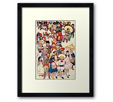 Friends in other Lands Framed Print