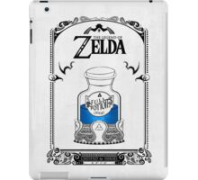 Zelda legend Blue potion iPad Case/Skin